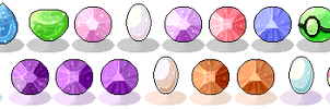 Steven Universe Gems by DominickLuhr