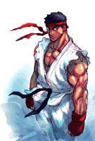 ryu sketch by sagatt