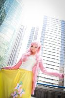 Fluttershy  (My little Pony ) cos by VilaKaine90