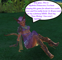Just Chillin In Tera by MidnightPrime