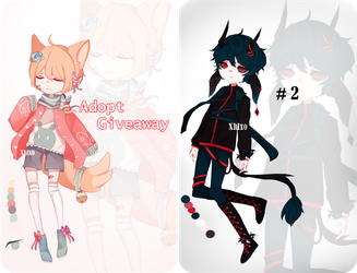 Adopt giveaway and an auction adopt!!! (closed) by Xhlxo