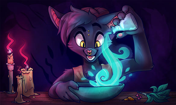 Mixing Up Some Fun! by Pepper-Head