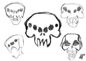 Coalition of Independent States skulls by JMK-Prime