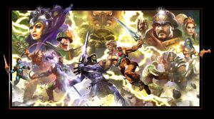 OLD SCHOOL MOTU by Dave-Wilkins