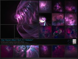 Fractal Stock Pack 21 - Nebular by Hexe78