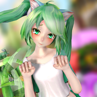 [MMD] Don't leave me master by VocaloidMMDer