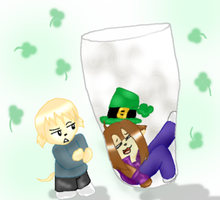 Paddys day with Treys Sons by Reipid