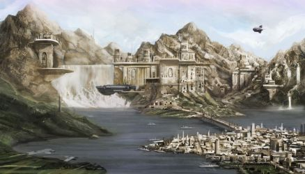Tek'ron-The Fortress Monastery by Lionel23