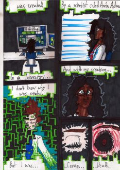 Cracked Identity (Webcomic) EP1 / Pg. 1 by PeanutGallerySeth