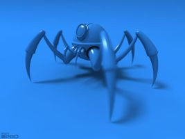 BlueSpider by pixelquarry