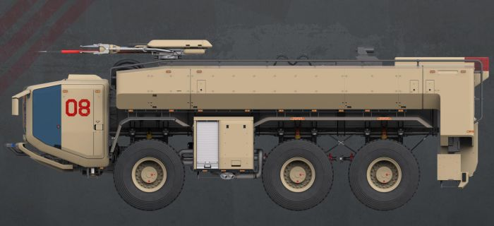 Firefight Truck: Side by sasa454