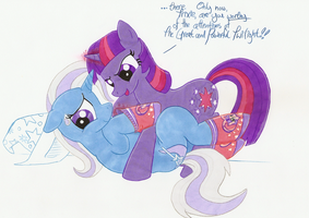 Turnabout is Mare Play by TwilightFlopple