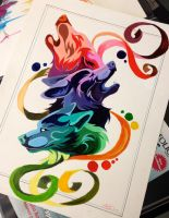 Wolf Color Wheel by Lucky978