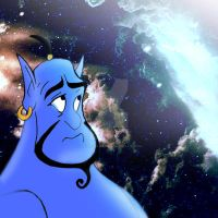 Goodbye Genie by The-Ginger-Artist