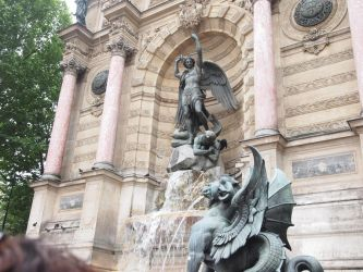 Saint Micheal's fountain by James-cooper