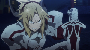 Mordred getting angry by Fu-reiji