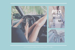 PSD 025 - RELAX by LittleDr3ams
