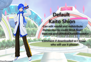 Project Diva F/2nd Default Kaito DL by Terrathde
