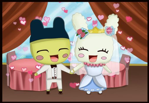 [CM]: Mametchi and Lovelitchi wedding by devashri