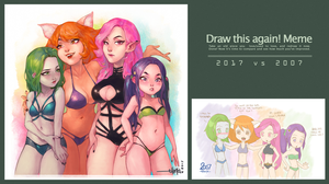 Draw This Again 2017 by Ehryel