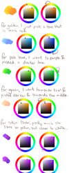 Colour Palettes by ClefdeSoll