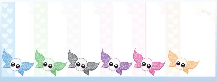 Skull Fairy - Stationery by creampuf