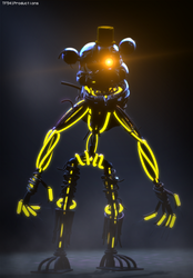 Stylized Molten Freddy by TF541Productions