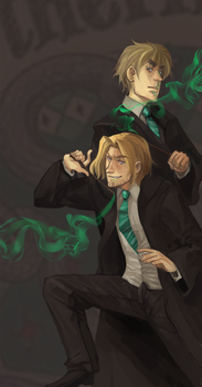 Slytherins by Blue-Fox