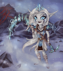 Night elf chibi. Druid by Wawern