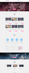 Bubblegum - Responsive One Page HTML Template by esr360