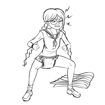 Touko Pushing by NormalDeviant