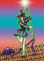 Comm - Stitch Witch meets the Frog by dragondoodle
