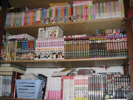 My manga collection by shirozzu