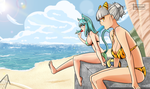 Endless Summer by Oni-dessin