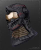 Combat Helmet by Cluly