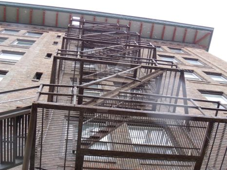 another fire escape by ziprose