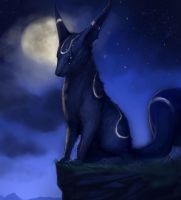 Umbreon - Commission by SoupAndButter