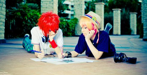Write a new heart catching song by Sora-Phantomhive