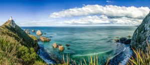 Nugget Point vue by partoftime