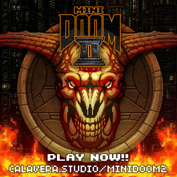 Minidoom 2 - PLAY NOW! by evilself