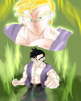 The Saiyan Angers by angers