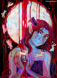 Blood Moon by ArFaise