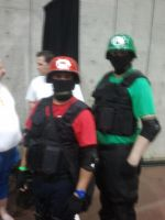 Super Mario Brothers at Stockton-Con by LoneWHunt