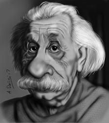Albert Einstein by adavis57
