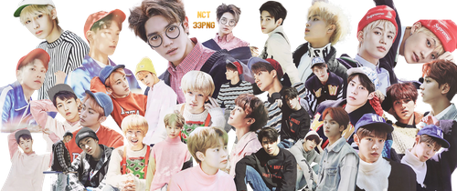NCT PNG Pack {Season Greetings 2017} by kamjong-kai