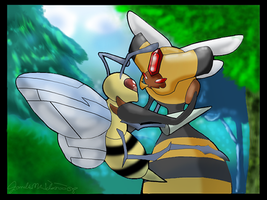 Vespiquen and Beedrill 2008