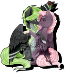 AlphaAquilae Comm by MagicaRin