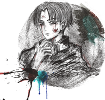 Levi Ackerman- AOT by Pearlonthesea
