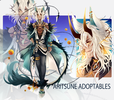[CLOSED] Auction adoptable by aritsuneart