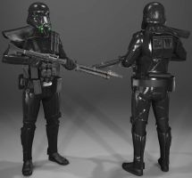 Star Wars Battlefront: Death Trooper by MarkusRollo